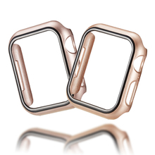 PC Watch Cover Case For Apple Watch case 44/40mm Bumper Fall Resistance Frame Protective Shell For iwatch series 4 Accessories s what protective detachable pc silicone bumper frame for iphone 4 4s white green