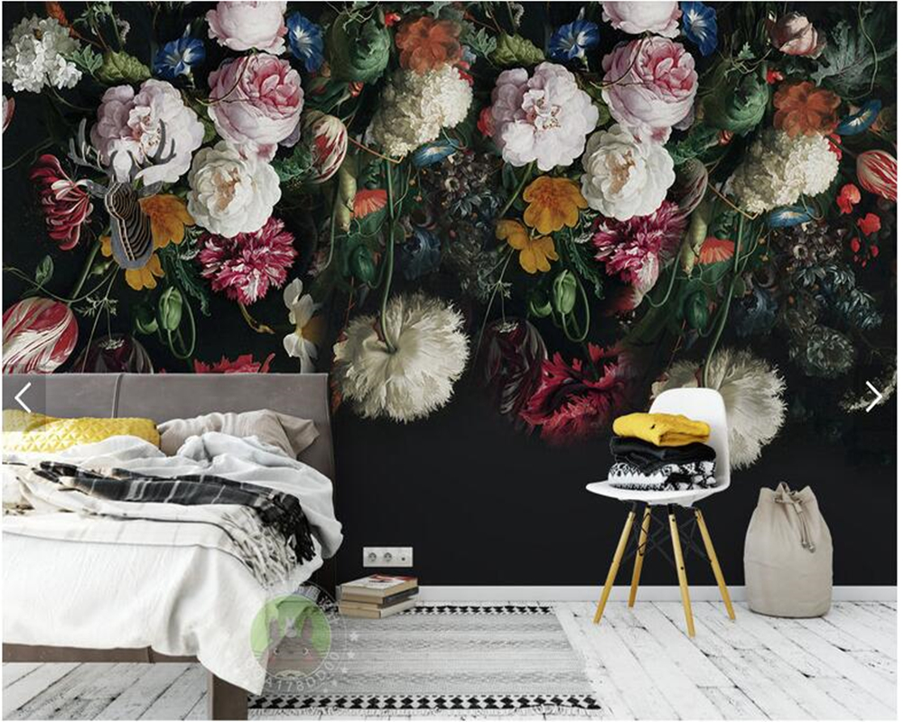 Aliexpress Com Buy Large Custom Mural Wallpapers Living: Aliexpress.com : Buy Custom Wallpaper For Walls 3d