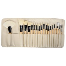 Professional Beige 18pcs Makeup Brush Set High Quality Tools Kit Superfine Hair Antibiosis Antianaphylaxis
