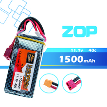 ZOP 11 1V 3S 1500Mah 40C Lipo RC Battery T XT60 Plug For WLtoys V950 RC