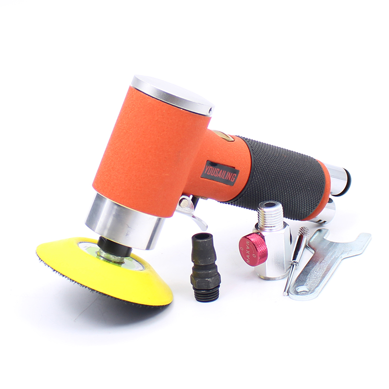 High Quality 3 Inch (75MM) concentric Air Sander Pneumatic Polishing Grinder Tool 90 Degree Polisher Machine high quality taiwan 4 inch cutting tool pneumatic cutter machine air cut off grinder tool
