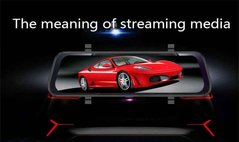 10 ''Dual Lensa FHD 1080P Mobil DVR Dash Cam Layar Sentuh G-Sensor Malam Visi Kamera DASH cam Perekam Video 3E22