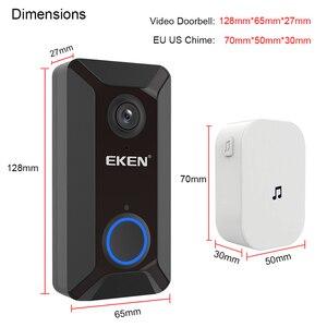 Image 5 - EKEN Smart Wireless Wifi Video Doorbell Intercom Phone Call Door Bell Camera Infrared Remote Record Home Security Monitoring