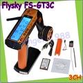 Оптовая 1 шт. Flysky FS-GT3C FS GT3C 2.4 Г 3CH RC АВТОМОБИЛЯ Система/w батареи GR3E Приемник Радио Контроллер Dropship