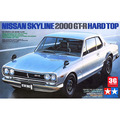 TAMIYA scale model 1/24 scale car 24194 SKYLINE 2000 GT-R HARD TOP  plastic assembly model kits scale car  model building kit