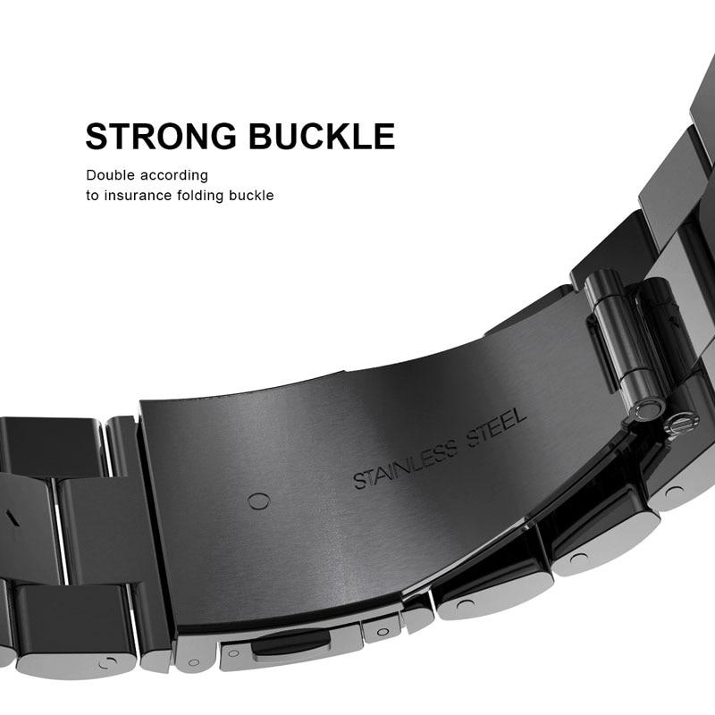 Luxury 316L Stainless Steel Metal Band For Apple Watch Strap 44mm 40mm 42mm 38mm Series 4 3 2 1 Bracelet Wrist Belt Watchband 9