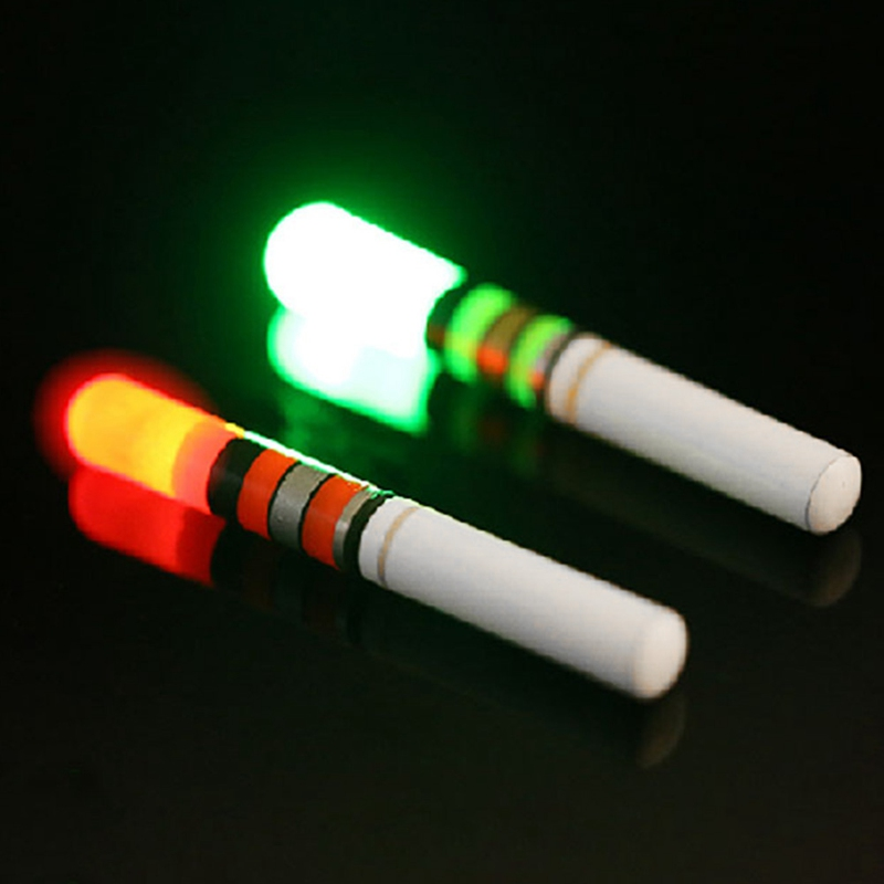 Fluorescent Light Glowing Red: Fishing Floats Fluorescent Lightstick Light Night Float