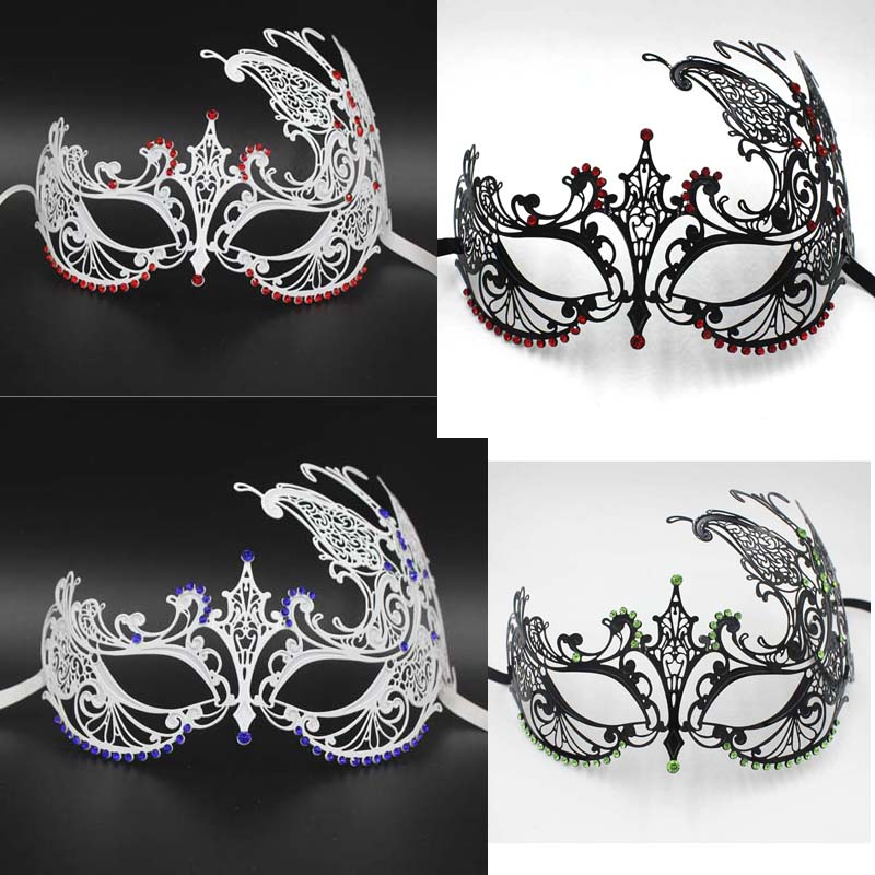 2016 Multicolor Drill mask cosplay 6 colors masquerade masks Foreign trade  classic diamond prom masquerade party f55a8fbeb019
