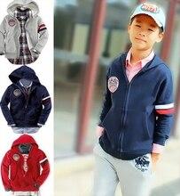 Продаж! высокое качество Детские верхняя одежда для осени и зимы, 100% хлопок малыш пальто, бесплатная доставка детская одежда для 6-14years старина!