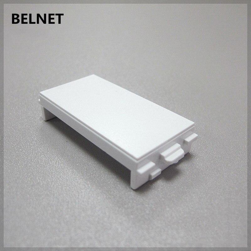 BELNET socket panel Weak Electrical blank filler panel White board Without module for 86 120 type