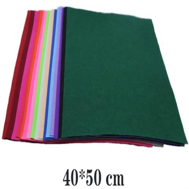 1 Pc 40*50 Cm High Quality Handmade Felt Wool Fabric DIY Craft Felt Leaves Flowers Toys Sewing Storage Bags Wool Felt Doll Decor