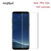 Full Cover Screen Protector Film For Samsung Galaxy S9 Soft