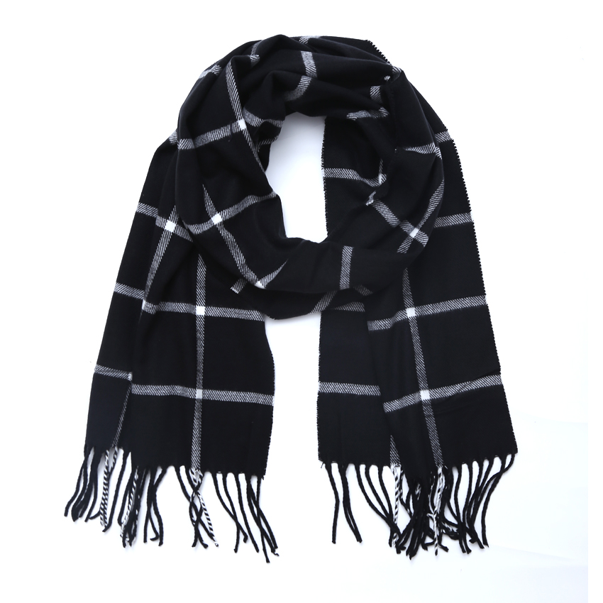 High quality Brand Fashion Winter Scarf For Women Men General Children Plaid cashmere Scarves Boys Girls Parents Scarf Unisex