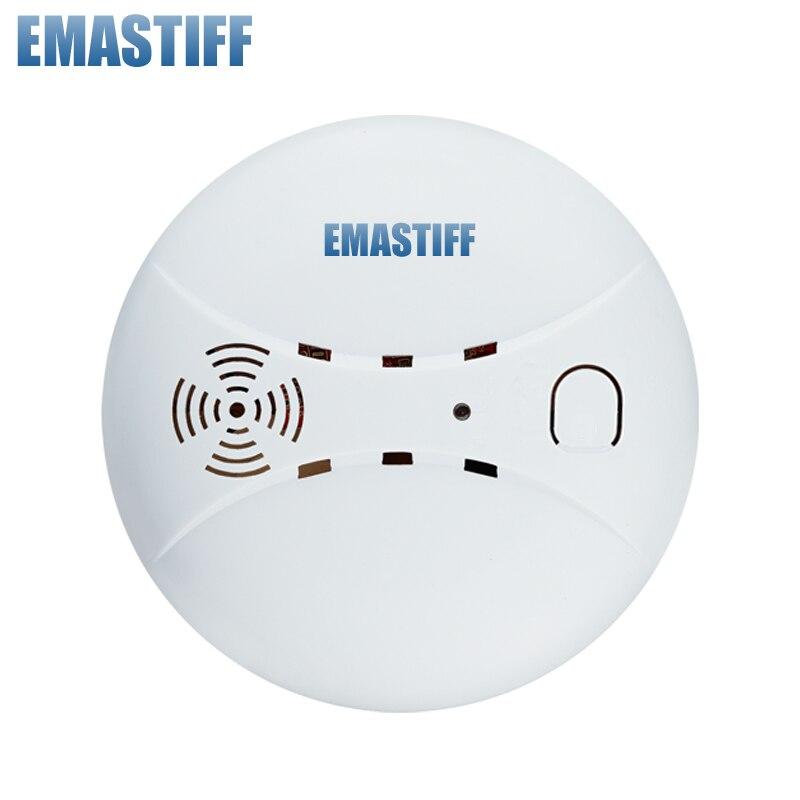 Бесплатная доставка! новые горячие Беспроводной Дым пожарный детектор утечки Сенсор 433 мГц для наших GSM PSTN office для дома охранной сигнализаци... ...