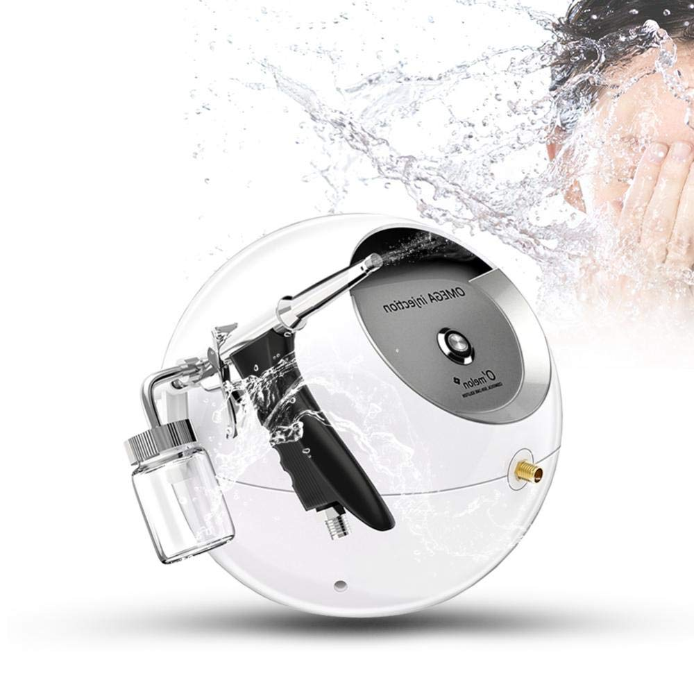 Portable Water Oxygen Facial Sprayer Water Injection Hydrate Moisturizing Skin Revitalizing Oxygen Facial Massager Beauty SPA