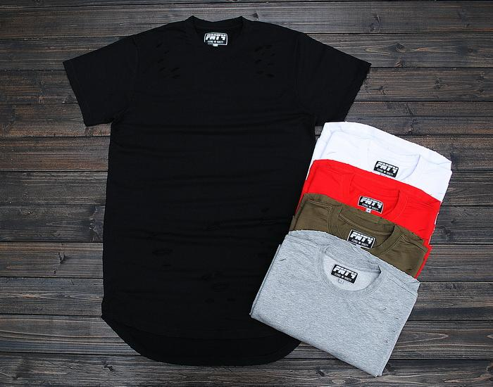 5color s 2xl mens big and tall plain extended t shirt for Mens 2xl tall shirts