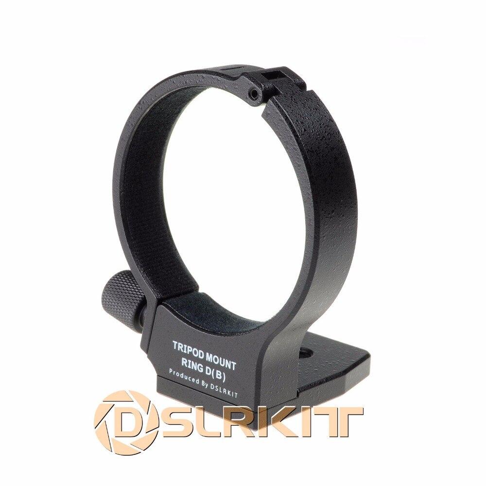 Métal trépied anneau d pour canon ef 100mm f/2.8l macro is usm