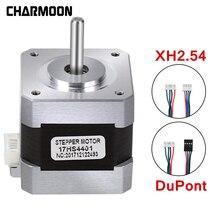 цена на 5pcs 4-lead Nema17 Stepper Motor 42 motor Nema 17 motor 42BYGH 38MM 1.5A (17HS4401) motor for CNC XYZ 3d printer motor New Hot