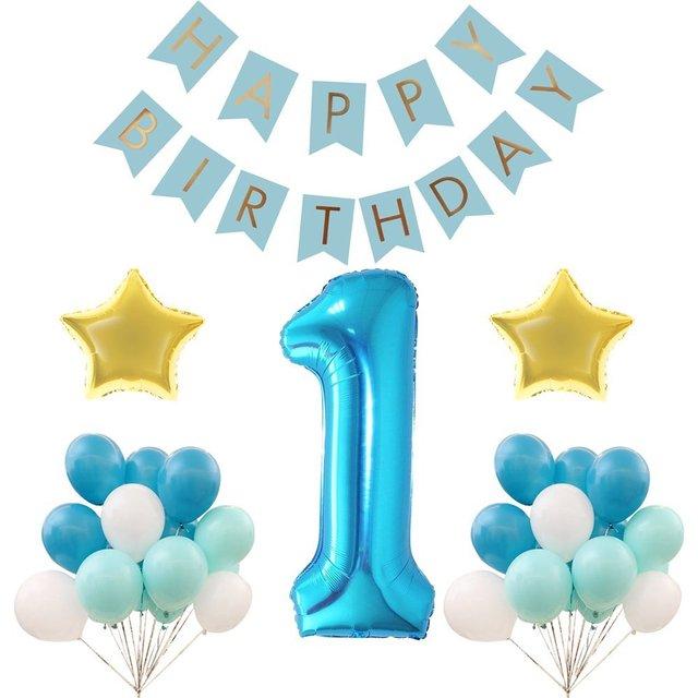 first birthday decoration set