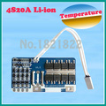 4S 20A 14.8 V junta de protección de la batería li-ion BMS PCM bms pcm con temerature interruptor para litio LicoO2 Limn2O4 18650 batería