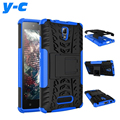 Для Lenovo A2010 Case New Back Case Mix Color ТПУ & Пластик PC Dual Броня case с Подставкой Для Lenovo A 2010