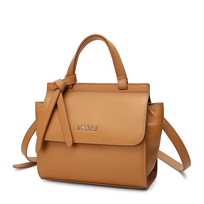 New Arrival Top Lager Genuine Leather Women's Bag Luxury Shoulder Bags Soft Wing Design Handbags цены