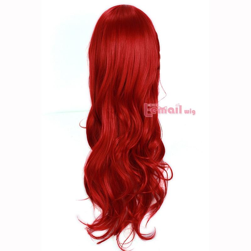 L-περούκα L-70cm 27.55 ιντσών Long Wavy Cosplay - Συνθετικά μαλλιά - Φωτογραφία 3