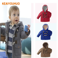 2014 New Children Outerwear Autumn Winter Boy Coat Kids Clothes With Horn Wu Children Clothing Free