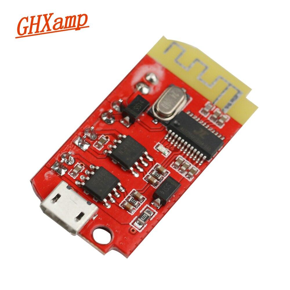 Ghxamp 4,2 Stereo Buletooth Verstärker Lautsprecher Bord 5 watt * 2 Unterstützung USB soundkarte 3,7-5 v Lithium- batterie