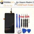 Tela para xiaomi redmi 2 novo display lcd de alta qualidade + substituição da tela de toque de tela para xiaomi red rice 2/hongmi 2