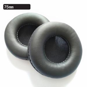 Image 3 - כללי EarPads 65 MM 70 MM 75 MM קצף אוזן רפידות שחור לבן אדום 10.16