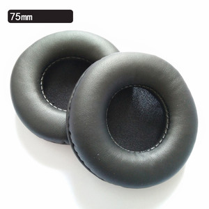 Image 3 - Oreillettes générales 65 MM 70 MM 75 MM coussinets en mousse pour écouteurs noir blanc rouge 10.16