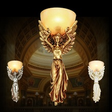 European style wall lamps entrance stairs aisle bar bedroom living room Europeum Hotel project creative animal wall lamp