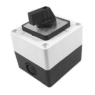 Ui 660V Ith 20A Rotary Selector 0-3 Position Changeover Cam Switch ui 660v ith 80a on off 2 position universal rotary cam changeover switch