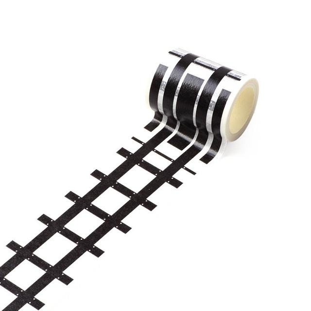 Kids Toy Car Road Adhesive Tape Removable Play Room DIY Track Floor Sticker S7JN