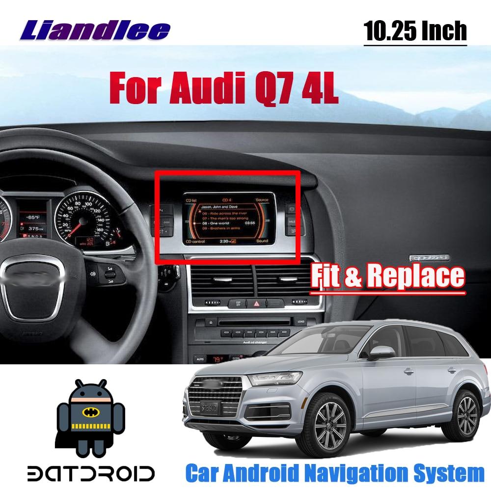 Liandlee Android 7.1 UP pour Audi Q7 4L 2005 ~ 2015 Original voiture Style Carplay Radio lecteur caméra écran cartes GPS Navi Navigation