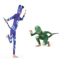 High Quality PJ Mask Hero Of Children Cosplay Costume And PJ Masks Cosplay Costume And Birthday