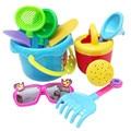 Best seller Factory Price high quality 9Pcs Sand Sandbeach Kids Beach Toys Castle Bucket Spade Shovel Rake Water Tools Aug18