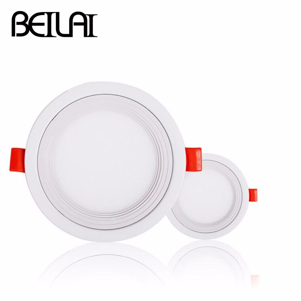 round led downlight 220v ultra thin led panel light 3w 9w 18w spot led ceiling lamp recessed. Black Bedroom Furniture Sets. Home Design Ideas