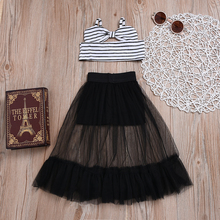 US $4.13 |Emmababy 2pcs Set Girls Clothes Kids Girl Bownot Stripe Tops+tulle Lace Skirt Outfits Clothes-in Clothing Sets from Mother & Kids on Aliexpress.com | Alibaba Group