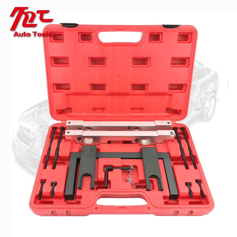 Engine Timing Tool Kit for BMW Engines Camshaft Timing Tool For N51 / N52 / N53 / N54 6pcs set vag timing toolkit for vw audi skoda 1 0 1 2 1 4 tsi tgi automotive engine timing camshaft car repair tool kit