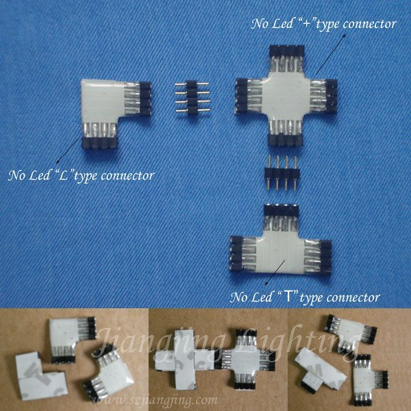 LED strip connector (Without LEDs)
