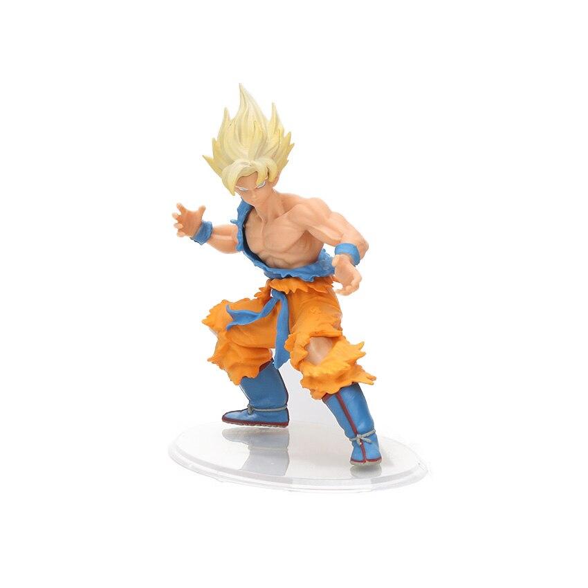 8-30 см Dragon Ball Z SCultures, большая серия Budoukai, фигурка из лазурита, наппа, радиц, Гоку, плавки, Вегета, сатана, Коллекционная модель - Цвет: yellow hair opp