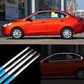 12 шт нержавеющая сталь Дверная оконная рама порога формовочная отделка для Chevrolet Sail3 2015