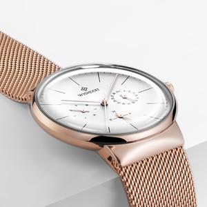 Image 4 - Women Watches Top Brand Luxury Japan Quartz Movement Stainless Steel Sliver White Dial Waterproof Wristwatches relogio feminino