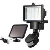 100LED Solar Powered Motion Sensor Light With Solar Panel Outdoor Lighting LED Security Floodlights For Garden