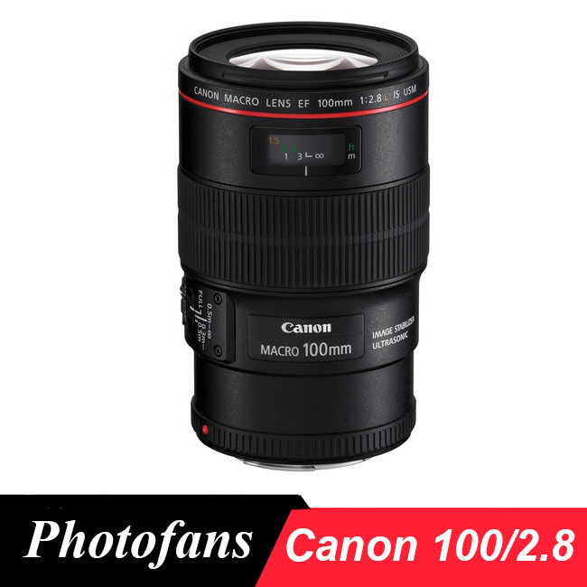 купить Canon 100mm Macro lens Canon EF 100mm f/2.8L Macro IS USM Lens (2016 new release) онлайн