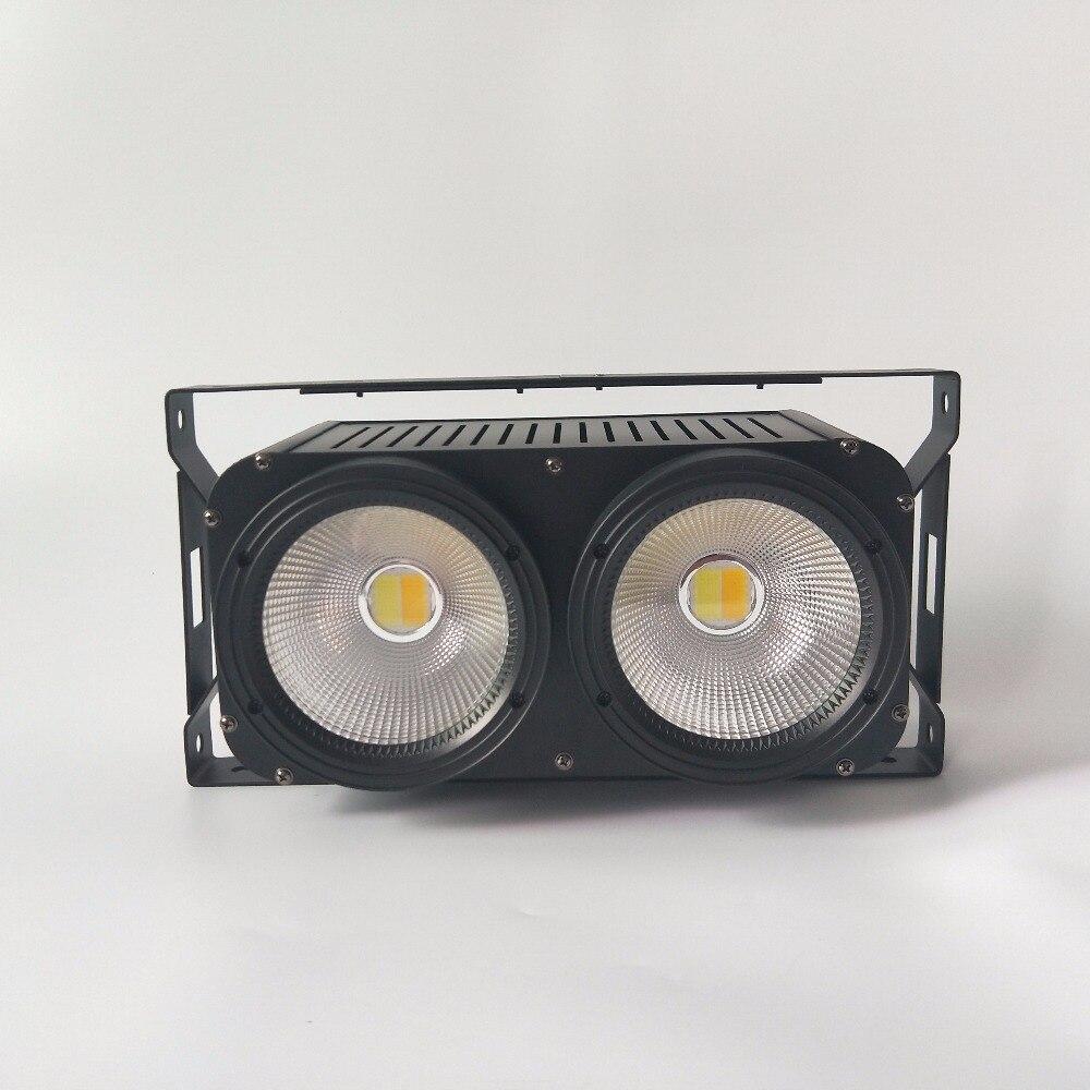 LED COB 2eyes 2x100W Blinder Lighting DMX Stage Lighting Effect,LED blinder light 2eye COB LED Wash Light 2pcs lot 2 eyes 2x100w led cob light dmx512 stage lighting effect warm white and cold white 200w led blinder light fast shipping