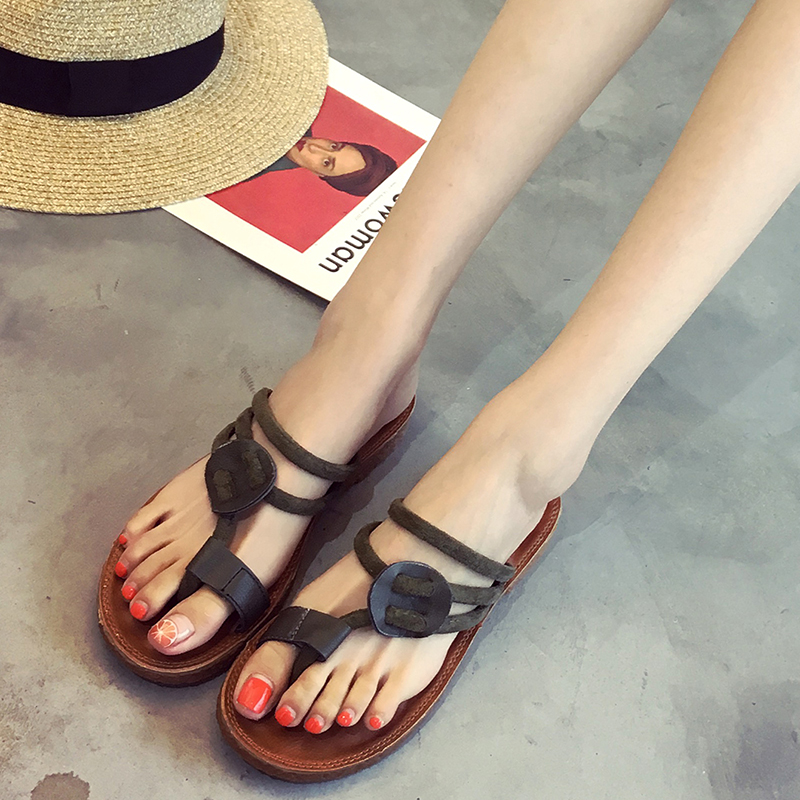 Women Sandals Flat With Shoes Bandage Bohemia Leisure Lady Sandals Peep-Toe Outdoor women's summer footwear Shoes xda 2018 new summer sandals women flat shoes bandage bohemia leisure lady casual sandals peep toe outdoor fashion sandals f171