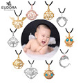 16/18/20mm Silver Plated Charm Bottle Pendant For Pregnancy Women Baby Shower Gift  Tie-in Bell, Aromatherapy Ball